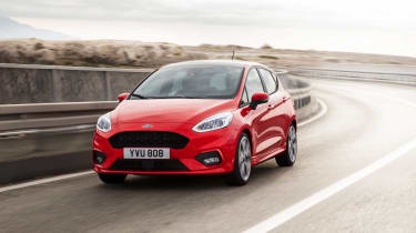 Ford has increased the Fiesta's grip under cornering and braking for a more secure drive