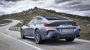 BMW 8 Series Gran Coupe - rear 3/4 shot