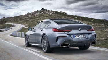 BMW 8 Series Gran Coupe - rear 3/4 shot