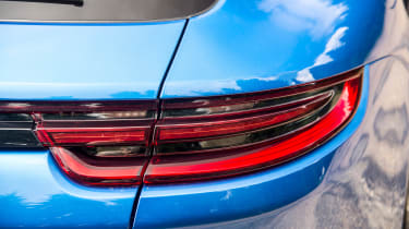The Panamera Sport Turismo has striking looks and features slim LED light clusters