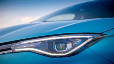 Renault ZOE - headlights