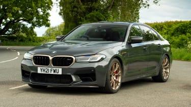 BMW M5 CS front 3/4 static