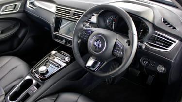 MG 5 EV long-range - interior