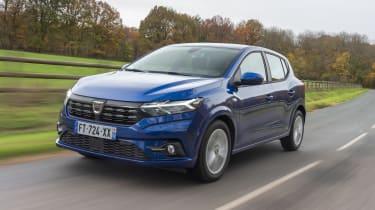 2021 Dacia Sandero - front 3/4 view