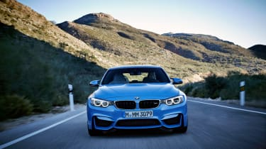 BMW M4 coupe 2014 front