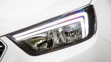 LED daytime running lights are a key feature of the Mokka X, helping it stand out from the Mokka