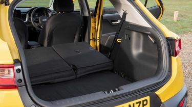Kia Stonic SUV boot seats folded