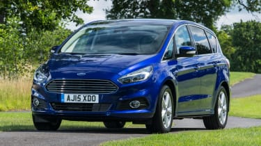 The Ford S-MAX is more entertaining than most rivals on twisty B-roads.