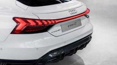 Audi e-tron GT rear end detail