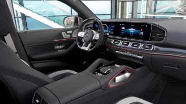 2020 Mercedes-AMG GLE 63 S Coupe front seats
