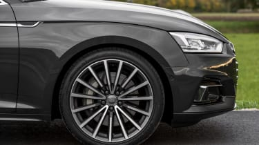 The 18-inch wheels do lead to a rather firm ride