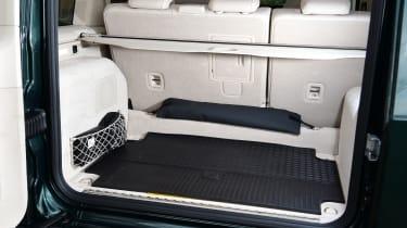 Mercedes G-Class SUV boot