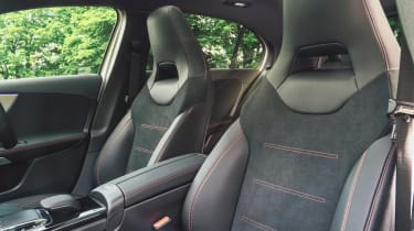 Mercedes A-Class AMG Line - front seats