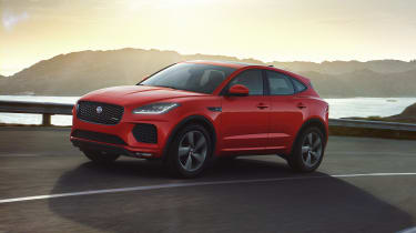 Jaguar E-Pace Chequered Flag driving