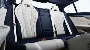 BMW 8 Series Gran Coupe saloon rear seats