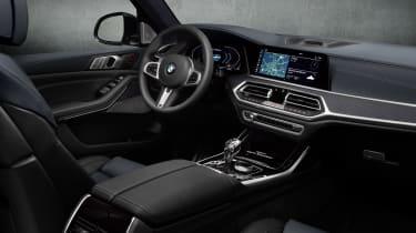 BMW X7 Dark Shadow Edition interior