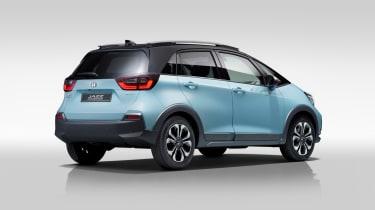2020 Honda Jazz Crosstar - rear 3/4 view
