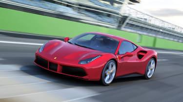 Ferrari 488 GTB track