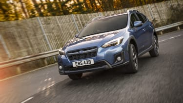Unlike most rivals, the Subaru XV is only available with petrol engines
