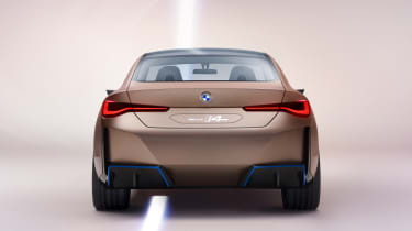 2021 BMW Concept i4 - rear view