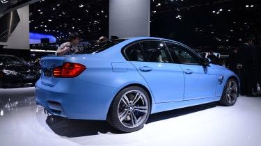 BMW M3 saloon 2014 side profile