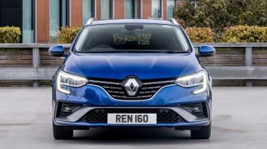 Renault Megane Sport Tourer estate front static