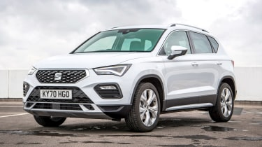 SEAT Ateca SUV front 3/4 static