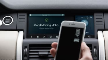 The Discovery Sport has impressive smartphone integration systems
