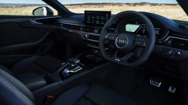 Audi S5 Coupe steering wheel