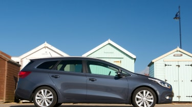 The Sportswagon has an elongated roofline and tail, but still manages to look quite stylish