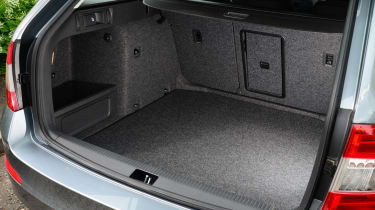 There's extra secure storage for valuables and oddments in underfloor compartments,