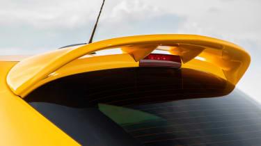 Vauxhall Corsa GSI roof spoiler