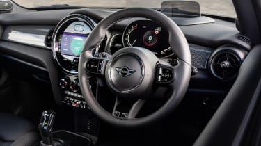 2021 MINI hatchback interior