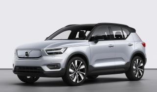 Volvo XC40 Recharge front static