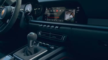 New Porsche 911 GTS interior
