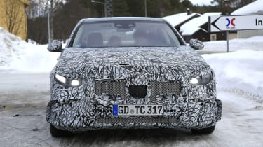 Mercedes-AMG C43 in development - front view