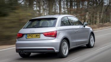 Audi A1 Sportback - rear 3/4 view