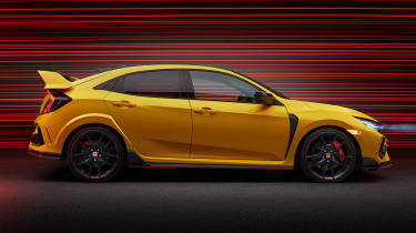 Honda Civic Type R Limited Edition side