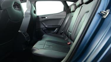 Cupra Leon hatchback rear seats