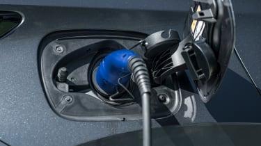 Lexus NX SUV charging flap