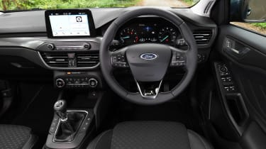 Ford Focus hatchback interior