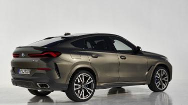 2019 BMW X6 - rear static studio shot