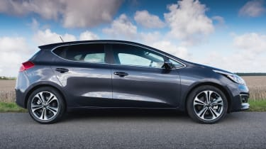 It sits in a competitive class, with many rivals like the Ford Focus, Vauxhall Astra, Volkswagen Golf and SEAT Leon