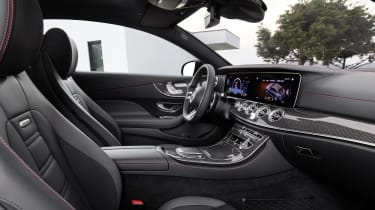 Mercedes-AMG E 53 Coupe interior side view