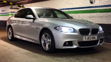 BMW 5 Series 2013 front quarter static