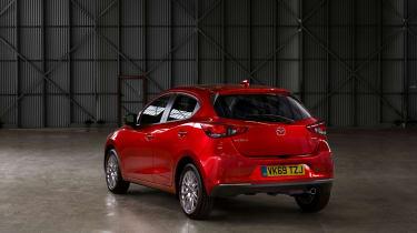 2020 Mazda 2 - static rear 3/4