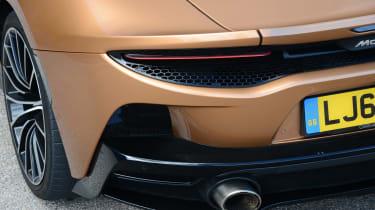 McLaren GT back end details
