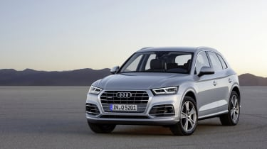 The new car is up to 90kg lighter than the outgoing Q5, improving performance, handling and fuel economy