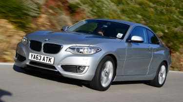Even the entry-level BMW 218d gets from 0-62mph in 8.4 seconds