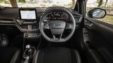 Ford Fiesta ST hatchback interior